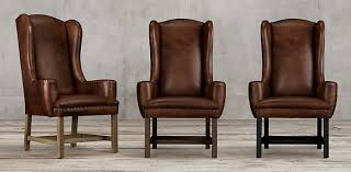Armchair Leather Leather Chair Collections Rh