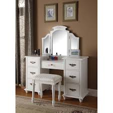 Silver Mirrored Bedroom Furniture Bedroom Masculine Silver Ikea Vanity Set With Folding Mirror