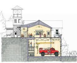 100 fire station designs floor plans travilah fire station