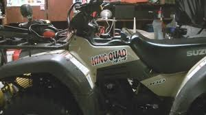 suzuki king quad 300 differential lock mod youtube