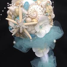 wedding bouquets with seashells shop wedding bouquets on wanelo