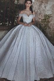 satin wedding dresses gown the shoulder court ivory satin wedding dress