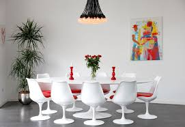 exotic dining room decorating ideas is embellished with paintings