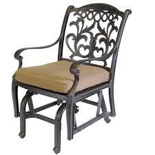 Outdoor Single Glider Chair Dwl Patio Furniture Viking Casual Furniture