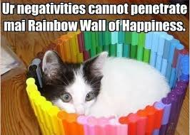 Happiness Meme - rainbow of happiness