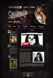 cassie steele grunge web template 2 by iloveyoukelly on deviantart