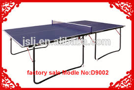 collapsible ping pong table d9002 cheap table tennis table price folding ping pong legs durable