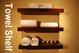 wall shelves design best mounted wall shelves for towels bathroom