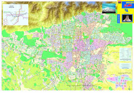Tehran Map Index Of Image