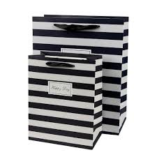 black and white striped gift bags black and white striped shopping bag dress images