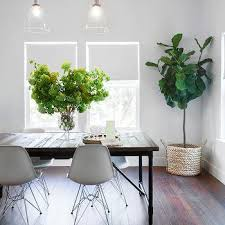 black table white chairs dark stained dining table design ideas