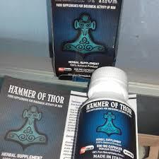 ciri ciri obat hammer of thor asli dan palsu hammer of thor