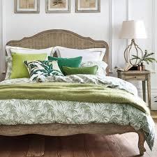 palms jacquard bed linen