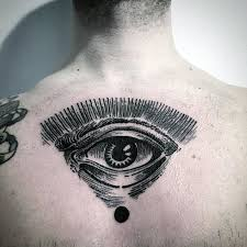 collection of 25 eye design on back