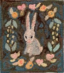 northwest folk design by marijo hooked rugs