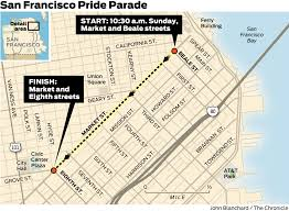 Embarcadero Bart Station Map by Here U0027s How To Get Around On Pride Weekend Sfgate