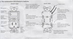 wiring leviton switch gfi outlet combo doityourself com