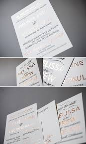 75 best metallic feature wedding invitations images on pinterest