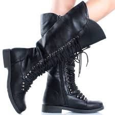 womens combat boots uk black lace boots womens with unique minimalist in