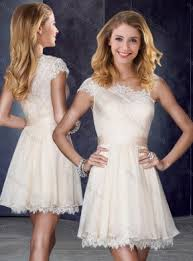one shoulder short champagne junior bridesmaid dresses with lace