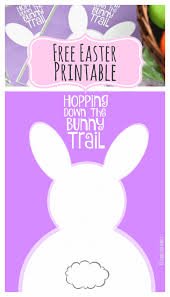 hopping down the bunny trail free easter printables in two sizes