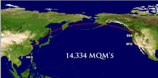 Delta Route Map by Hurry Attack Fare San Francisco Sfo To Hong Kong Hkg 483