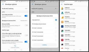 android developer options android developer options what they are for and what should
