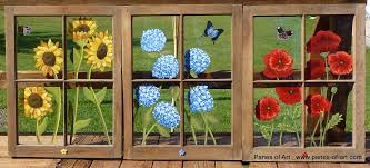 painting on glass windows panes of art barn quilts hand painted windows window art