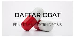 Obat Oxycodone daftar obat obatan penyebab hyperhidrosis