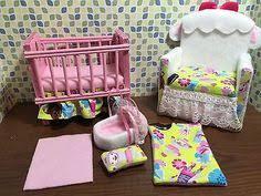 Doc Mcstuffins Sofa Barbie Baby Nursery Set Furniture Crib U0026 Sofa U0026 Carrier Owl