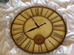 large wall clock large wall clock household in buffalo ny offerup