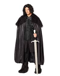 spirit halloween nj game of thrones jon snow deluxe cloak halloween ideas