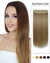 one clip in hair extensions feshfen 24 one 3 4 clip in hair extensions