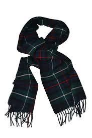 quality scottish lambswool tartan scarf in mackenzie tartan plaid