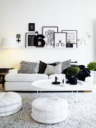 Side Table Decor Ideas by Living Room Handsome Black White And Grey Living Room Decoration