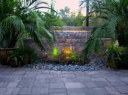 Backyard Feature Wall Ideas 84 Best More Water Features Images On Pinterest Water Features