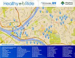 San Francisco Bike Map Bike Sharing Program To Begin In Pittsburgh Next Month