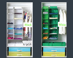 Shelf Hanging Closet Organizer - private label non woven fabric hanging clothes organizer home