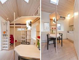 micro homes interior micro living cottage 12 square metre in sweden the