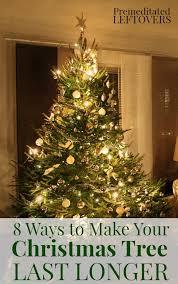 how to make christmas 8 ways to make your christmas tree last longer jpg