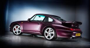 porsche 911 turbo 90s porsche 911 turbo 993 purple thrills classic driver magazine