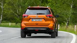 orange nissan rogue nissan x trail 2017 facelift review by car magazine