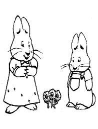 max and ruby coloring pages online coloring pages online kids