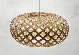 ovale designerle aus holz kina david trubridge - Designer Leuchte