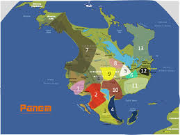 Hunger Games District Map Map Of Panem Hunger Games The Most Accurate Maps Of Panem