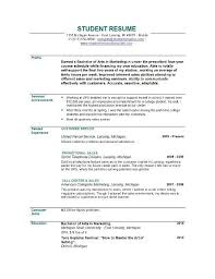 examples of cosmetology resumes resume examples for cosmetology