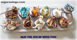 happy thanksgiving star wars sugar swings serve some star wars creature cupcakes may the