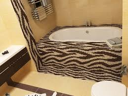 animal print bathroom ideas extraordinary zebra print bathroom ideas tub wooden style interior