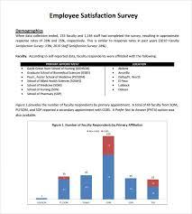 sample employee satisfaction survey u2013 5 example format