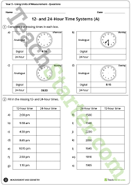 using units of measurement worksheets year 5 teaching resource
